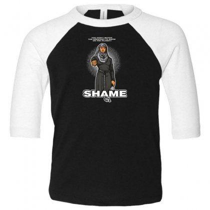 What A Shame Toddler 3/4 Sleeve Tee Designed By Andr1