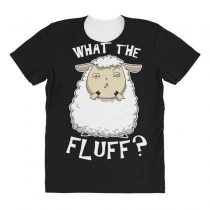 What The Fluff All Over Women's T-shirt Designed By Andr1