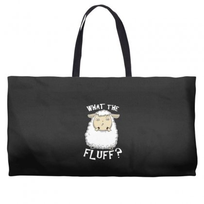 What The Fluff Weekender Totes Designed By Andr1