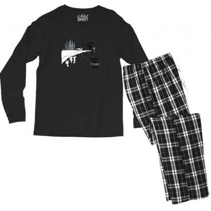 Where The Town Ends Men's Long Sleeve Pajama Set Designed By Andr1
