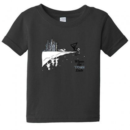 Where The Town Ends Baby Tee Designed By Andr1