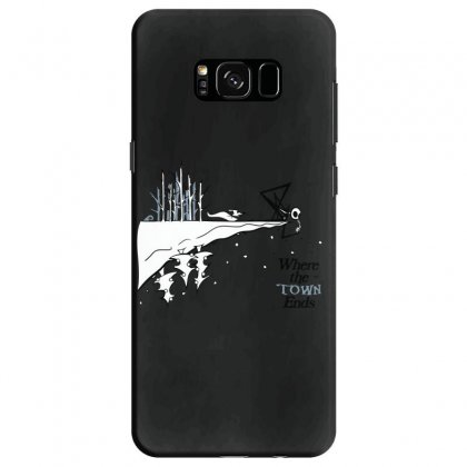 Where The Town Ends Samsung Galaxy S8 Case Designed By Andr1