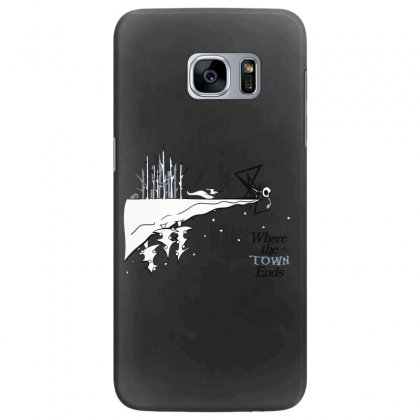 Where The Town Ends Samsung Galaxy S7 Edge Case Designed By Andr1
