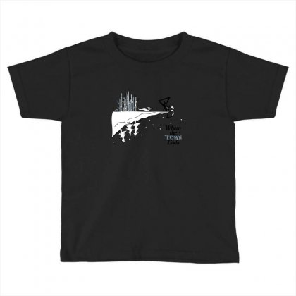 Where The Town Ends Toddler T-shirt Designed By Andr1