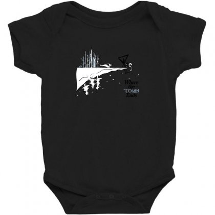 Where The Town Ends Baby Bodysuit Designed By Andr1