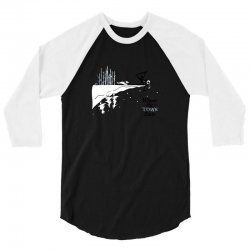 where the town ends 3/4 Sleeve Shirt | Artistshot