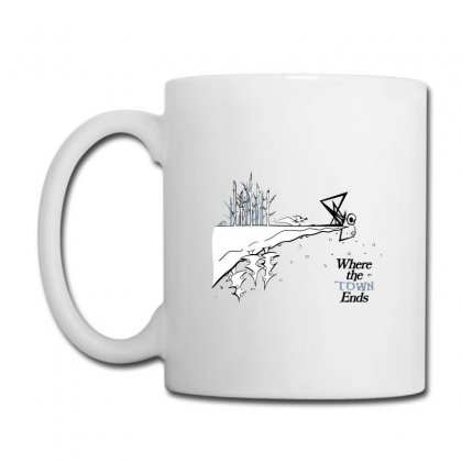 Where The Town Ends Coffee Mug Designed By Andr1