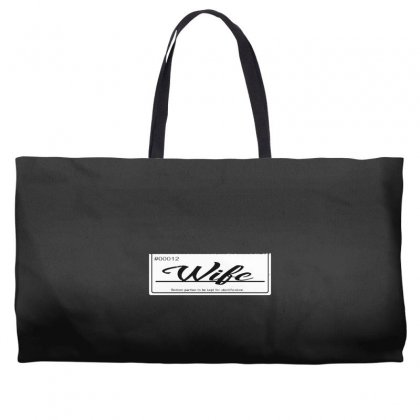 Wife Weekender Totes Designed By Andr1