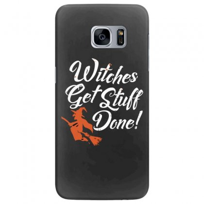 Witches Get Stuff Done Samsung Galaxy S7 Edge Case Designed By Andr1