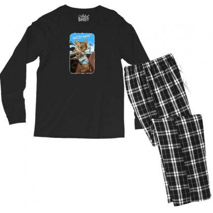 Wizzy Woo Men's Long Sleeve Pajama Set Designed By Andr1