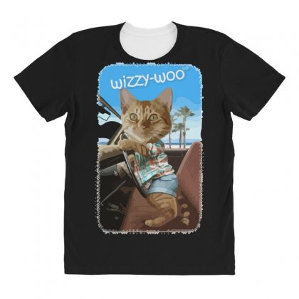 Wizzy Woo All Over Women's T-shirt Designed By Andr1