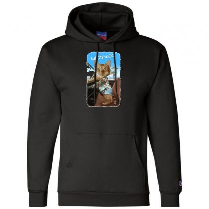 Wizzy Woo Champion Hoodie Designed By Andr1