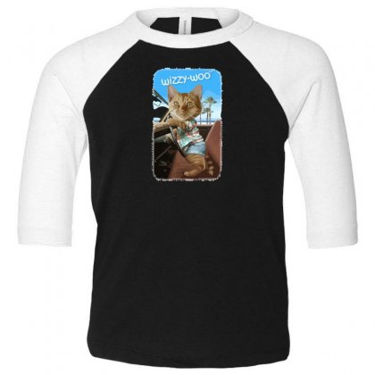 Wizzy Woo Toddler 3/4 Sleeve Tee Designed By Andr1