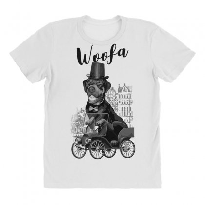 Woofa All Over Women's T-shirt Designed By Andr1