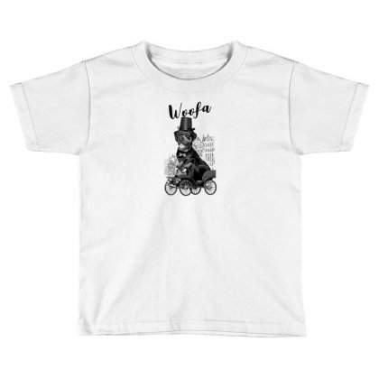 Woofa Toddler T-shirt Designed By Andr1
