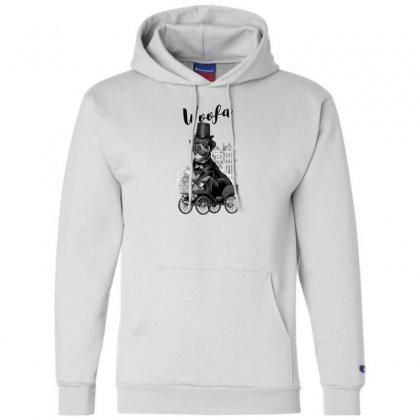 Woofa Champion Hoodie Designed By Andr1