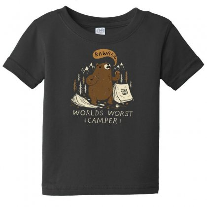 Worlds Worst Camper Baby Tee Designed By Andr1