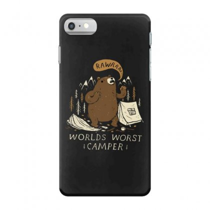 Worlds Worst Camper Iphone 7 Case Designed By Andr1