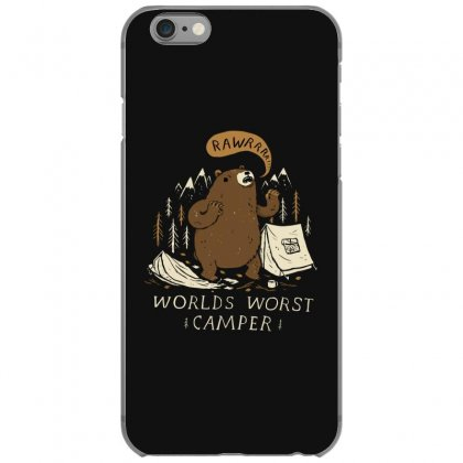 Worlds Worst Camper Iphone 6/6s Case Designed By Andr1
