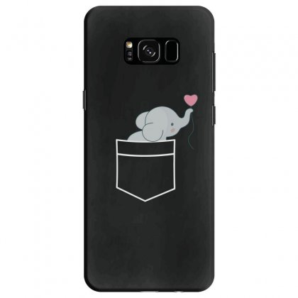 Wow An Elephant In My Pocket Samsung Galaxy S8 Case Designed By Andr1