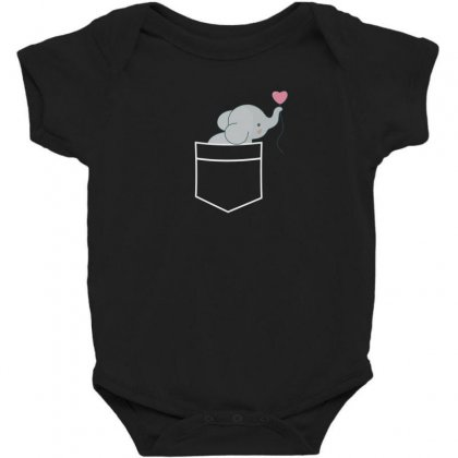Wow An Elephant In My Pocket Baby Bodysuit Designed By Andr1