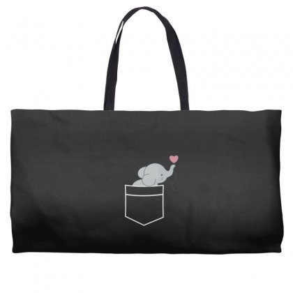 Wow An Elephant In My Pocket Weekender Totes Designed By Andr1