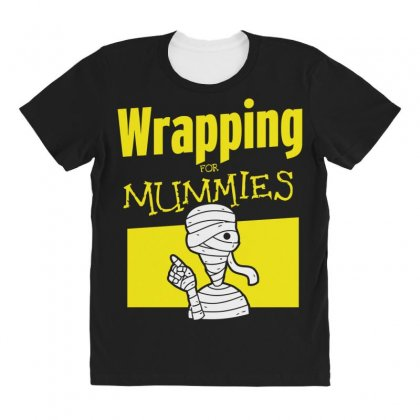 Wrapping For Mummies All Over Women's T-shirt Designed By Andr1