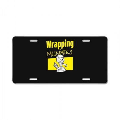 Wrapping For Mummies License Plate Designed By Andr1
