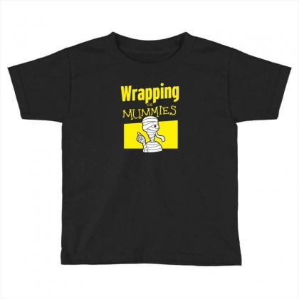 Wrapping For Mummies Toddler T-shirt Designed By Andr1