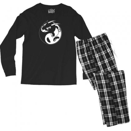 Yin Cup! Men's Long Sleeve Pajama Set Designed By Andr1