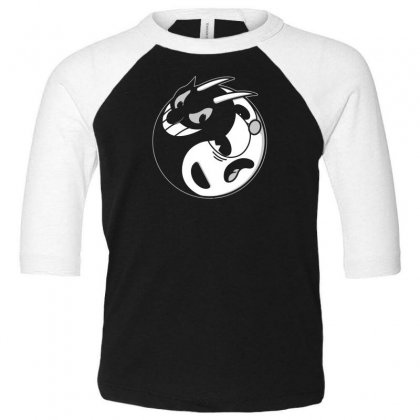 Yin Cup! Toddler 3/4 Sleeve Tee Designed By Andr1