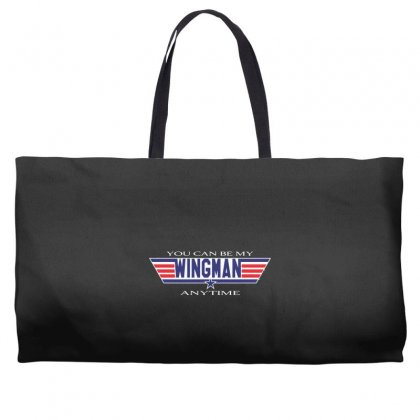 You Can Be My Wingman Anytime Weekender Totes Designed By Andr1