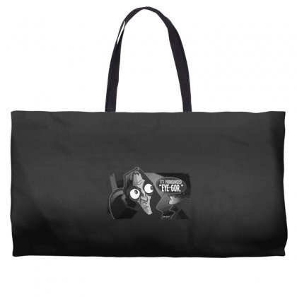 You Heard Wrong Weekender Totes Designed By Andr1