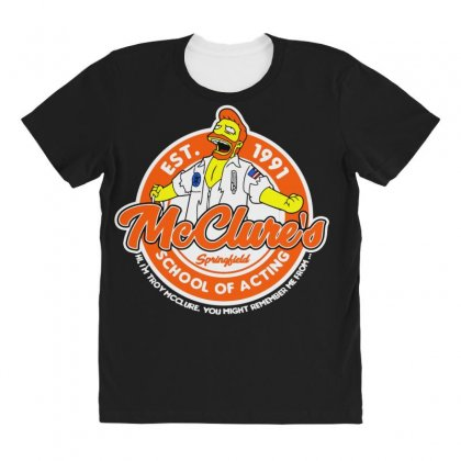 You May Rember Me From My School Of Acting All Over Women's T-shirt Designed By Andr1