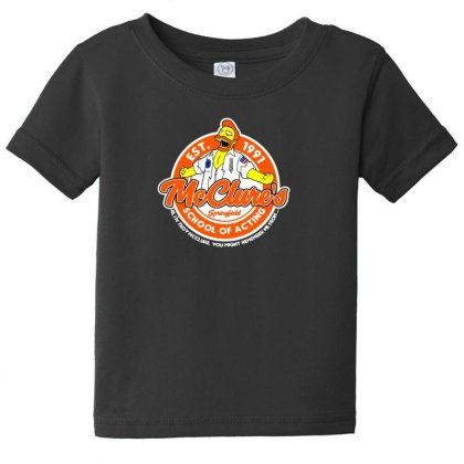 You May Rember Me From My School Of Acting Baby Tee Designed By Andr1