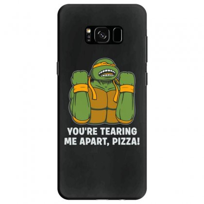 You're Tearing Me Apart Pizza Samsung Galaxy S8 Case Designed By Andr1