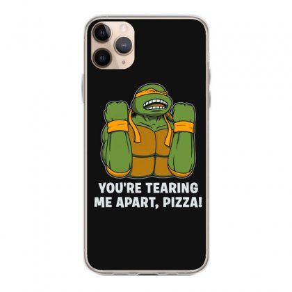 You're Tearing Me Apart Pizza Iphone 11 Pro Max Case Designed By Andr1