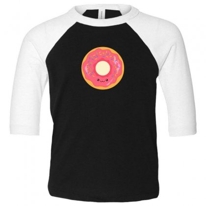 Yummy Donut Toddler 3/4 Sleeve Tee Designed By Andr1