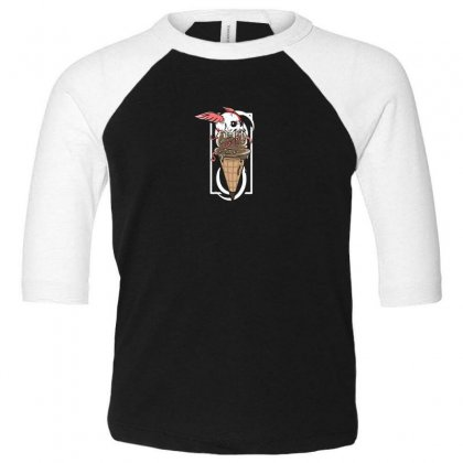 Yummy Wing Toddler 3/4 Sleeve Tee Designed By Andr1