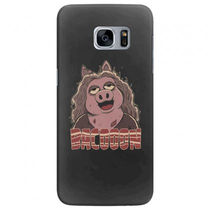 Zombie Bacooon Samsung Galaxy S7 Edge Case Designed By Andr1
