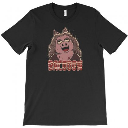 Zombie Bacooon T-shirt Designed By Andr1