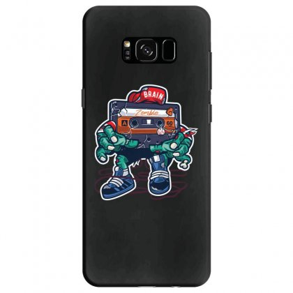 Zombie Cassette Tape Samsung Galaxy S8 Case Designed By Andr1