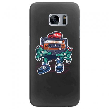 Zombie Cassette Tape Samsung Galaxy S7 Edge Case Designed By Andr1
