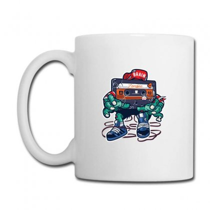 Zombie Cassette Tape Coffee Mug Designed By Andr1