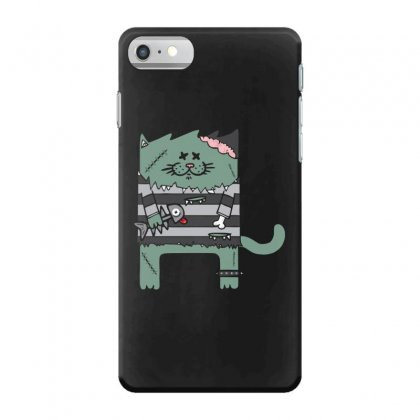 Zombie Cat Iphone 7 Case Designed By Andr1