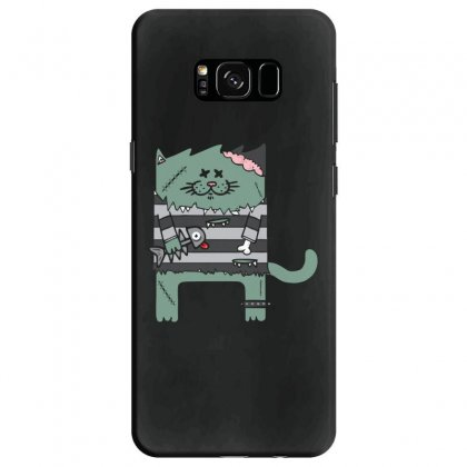 Zombie Cat Samsung Galaxy S8 Case Designed By Andr1