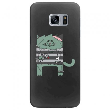 Zombie Cat Samsung Galaxy S7 Edge Case Designed By Andr1
