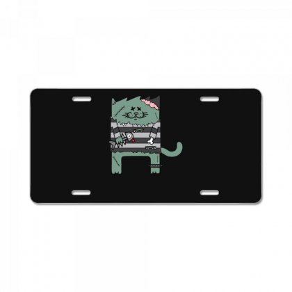 Zombie Cat License Plate Designed By Andr1