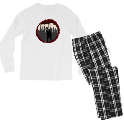 Zombie Control (shooter) Men's Long Sleeve Pajama Set Designed By Andr1