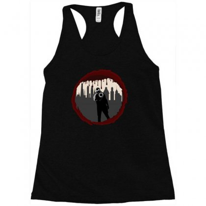 Zombie Control (shooter) Racerback Tank Designed By Andr1